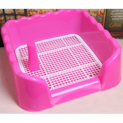 Toilet Indoor Mesh Resin Toilet Potty Pet Toilet Cleanness Pet Toilet with Mesh