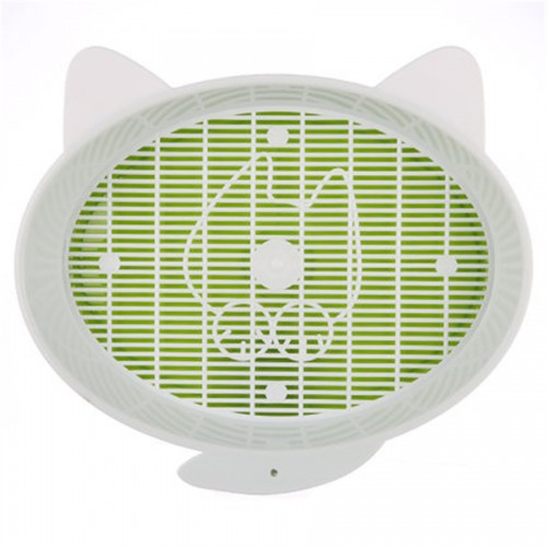 Tray Litter Plastic Pet Closed House Toilet For Cat Restroom Plastic Basin
