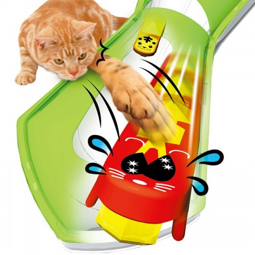 Battery Powered Fast Moving Micro Robotic Bug Toy For Entertaining Your Pets Cats Go Crazy Toys