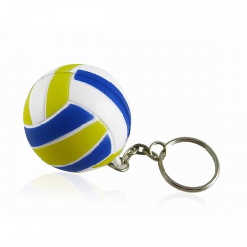 Cat Toy Mini Volleyball Shaped Keychain Ring Keyfob Holder france