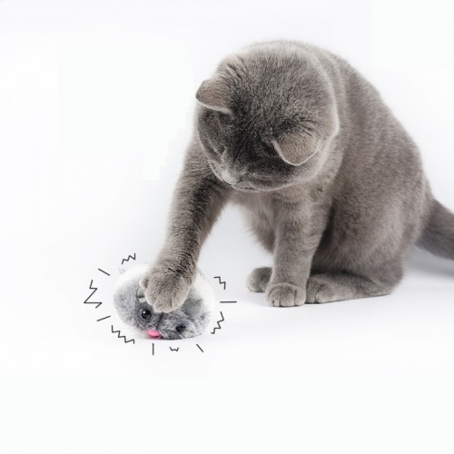 Cat Toys Pulling Chain Shock Shake Interactive Pet Rat Artificial