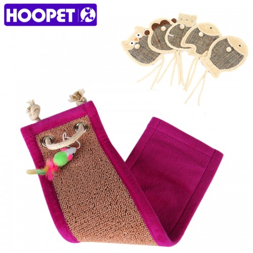 Cats corrugated paper Scratching Board with Catnip Scratch Board Toy Furniture Scratcher