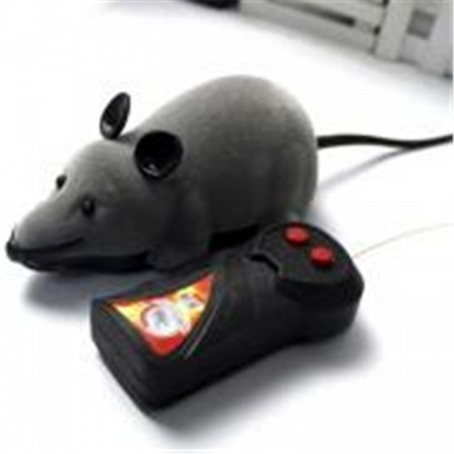 Pet Cat Toys Mouse with Remote Control Wireless Motion Rat Mouse Toy Cat