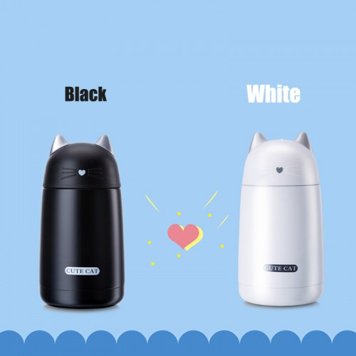 Cute Thermos Cup Pets Kids Thermo Mug Child Water Bottle Stainless Steel Vacuum Cup
