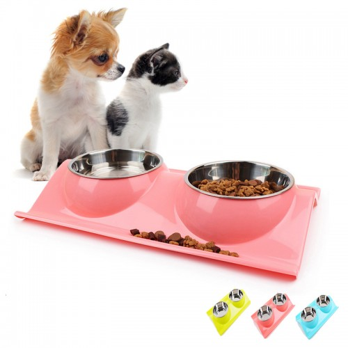 Dog Bowl Stainless Steel Water Food Storage Safety Environmental Protection