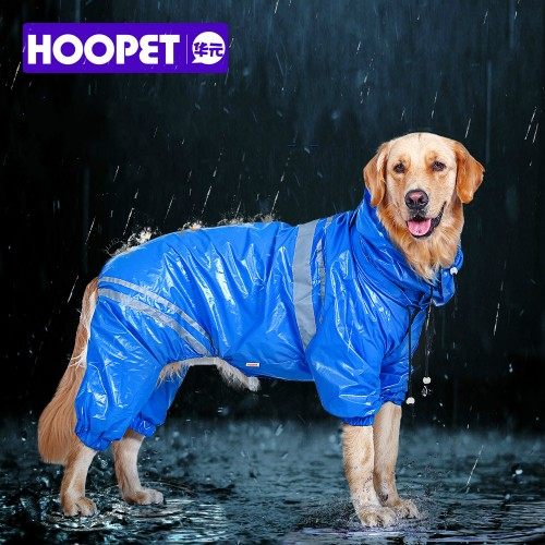 Pet Large Dogs Raincoat Out door walking Waterproof Detachable rain cover Water Protection Big Dog