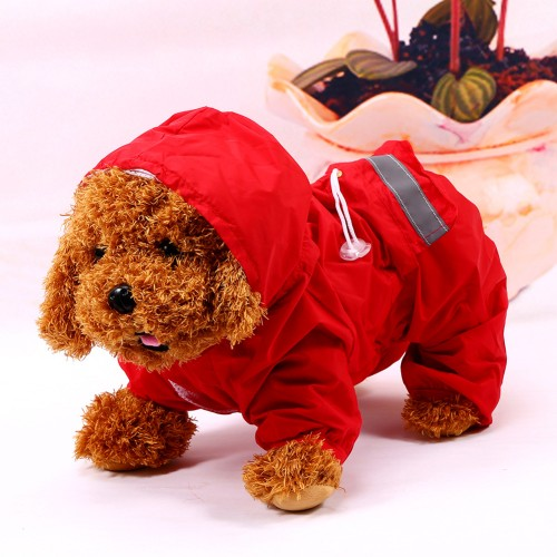 Pet Raincoat Fashion Casual Waterproof Jacket Dogs Puppy Decoration Product