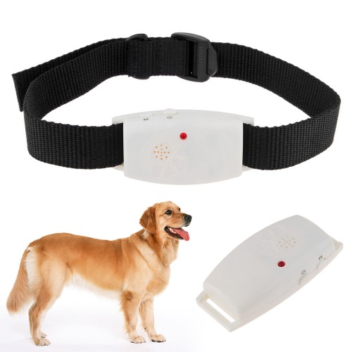 Dog collar Pet Supplies Ultrasonic Dog Repeller with LED Indicator Repells Flea Ticks and Mosquito