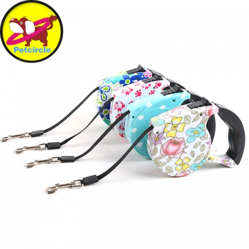 Dog lead Retractable Dog Leash Pet Traction Rope Chain Harness