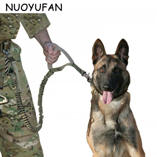 NUOYUFAN Army Tactical Dog Collars Waterproof Dog Leash Quick Release Heavy Duty Panic Adjustable Military Tactical