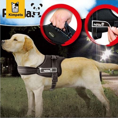 Pet Dog Nylon Harness Soft Large Dog Suspenders Pet Harness Retractable Dog