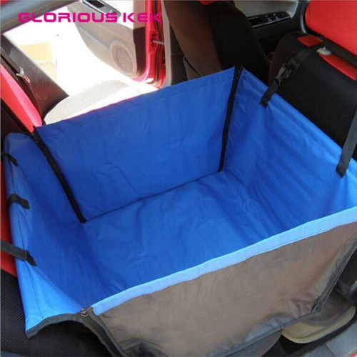 Back Single seated Dog Car Seat Cover Waterproof Single Dog Car Seat Protector Stain