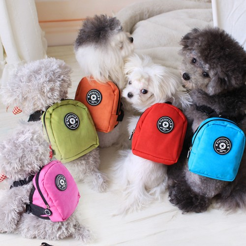 Dourable nylon Backpack for Pet Dog Backpack for Small Dog multifunction School Bag Dog