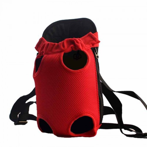 Lightweight Mesh Carrier Backpack Super Breathable Durable Pet Bag Carrier for Small Dogs