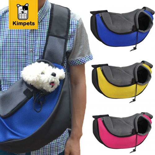 Pet Dog Puppy Front Carrier Mesh Comfort Travel Tote Shoulder Bag Sling Backpack Comfortable