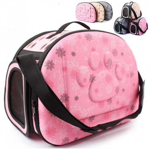 Pet Travel Carrier small dogs and Bag Folding Portable Breathable outdoor carrier pet Bag transportin