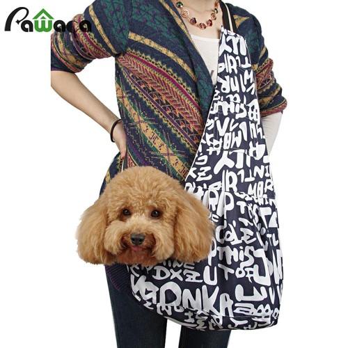 Portable Pet Carrier Bag Small Pet Dog Carrier Backpacks Oxford Cloth Sling Bag Travel Shoulder