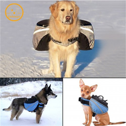 pet large dog bag carrier Backpack Saddle Bags dog travel Large capacity bag