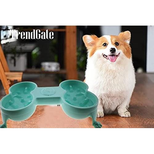 TrendGate Anti-slip Pet Feeder Dog/Cat Bowl For Labrador/Toypoodle/Teddy/Yorkshire Terrier And More
