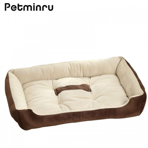 Petminru Dog House Bed Kennel Mat Soft Pet Dog Sofas Puppy