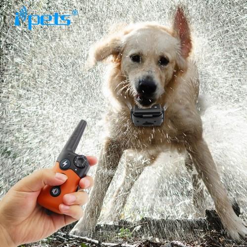 Electric Dog Training Collar Large Dog Training Collars 300m Remote Training Collar Bark