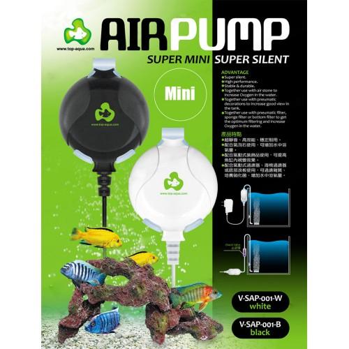 Air Pump mini nano hang on quiet silent with air tube air stone aquarium