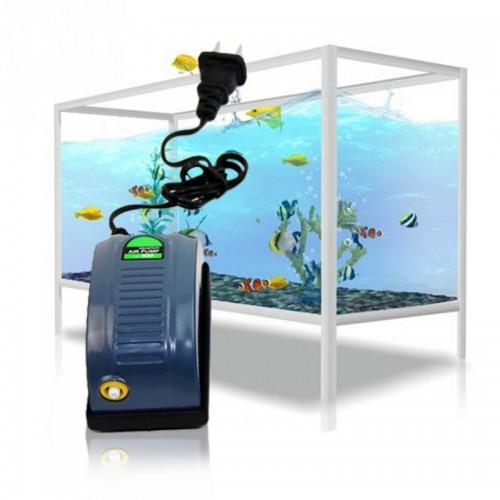 Fish Tank Oxygen Air Pump Plug Fish Aquatic Supplies Super Silent Adjustable Aquarium Air