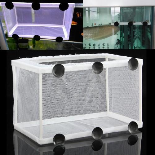 Fish breeding incubator net hanging fish hatchery for Fish breeding net