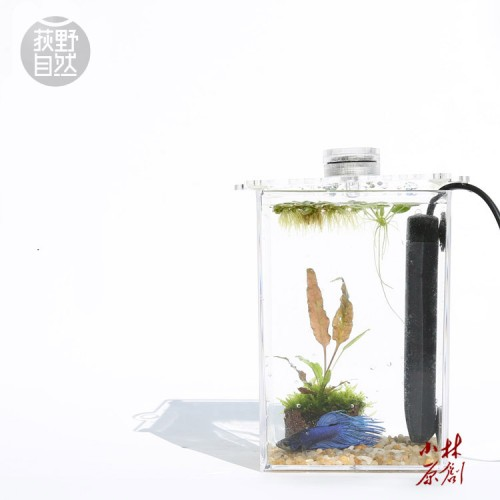 tropical betta fish mini nano arcylic tank aquarium small
