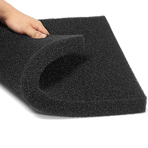 Filtration Foam Aquarium Fish Tank Biochemical Filter Sponge Pad Mat Black