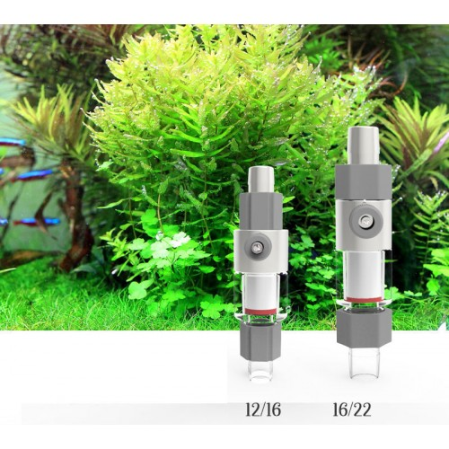 Super atomizer diffuser reactor external suitable water