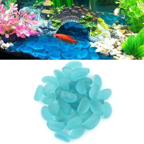 Blue Ocean Stone Decor Ornament for Aquarium Fish Tank Home Garden Vase