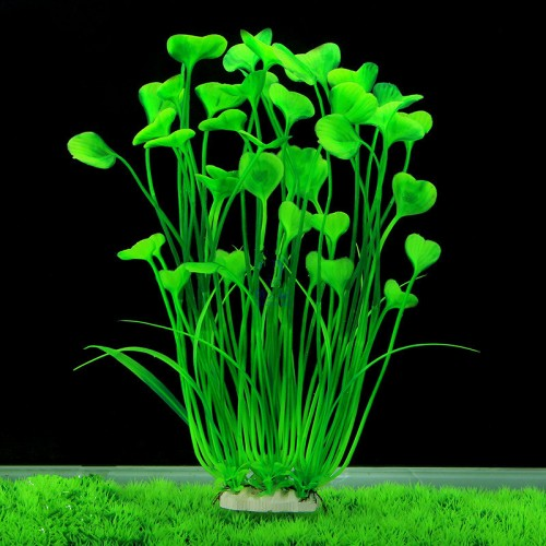 Green Artificial Simulation Protection Materials Water Plants for Fish Tank Aquarium accessories