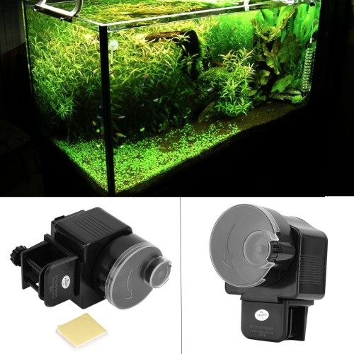 Digital Automatic Aquarium Tank Auto Fish Feeder Timer Food Feeding Electronic Fish Food Feeder Timer
