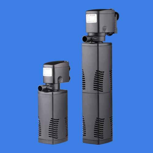 Aquarium filters triple built in filters versatile submersible pump fish tank aerator