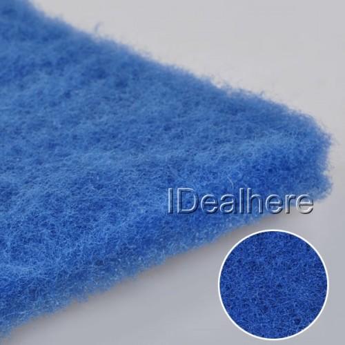 Blue biochemical cotton filter foam sponge aquarium fish for Fish pond filter material