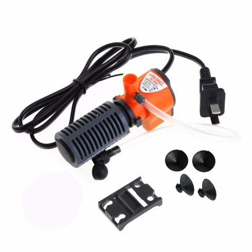 Mini Aquarium Internal Filter Fish Tank Submersible Pump Spray