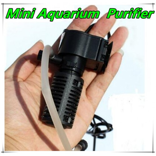 Submersible Pump Aquarium Purifier Oxygen Circulating Fish tank Water Filter