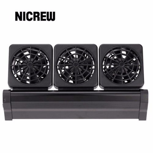 Nicrew Aquarium Accessories aquarium tank cooling fans fish tank fans for aquarium coral reef Adjustable 2