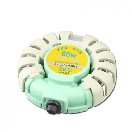 SUNSUN aquarium temperature control product Aquarium Heater 220V 65W Automatic constant temperature 26 degrees Celsius