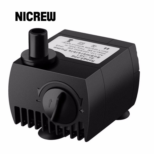 Nicrew Submersible Water Pump For Aquarium Pond Fish Tank Fountain Water Pump Pompe Hydroponics