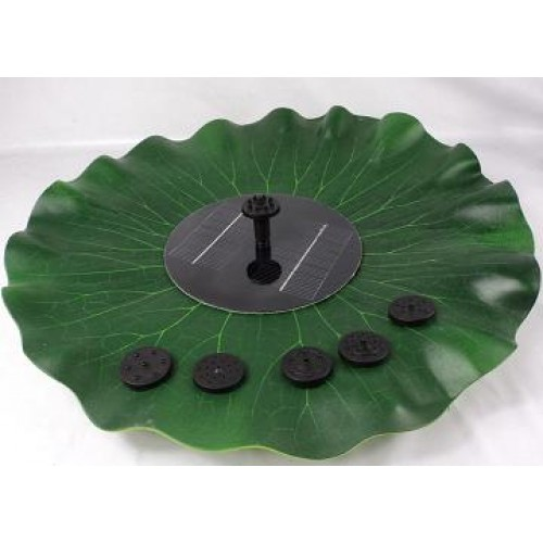 Simulation Lotus Leaf Fountain Brushless Motor Solar Pump