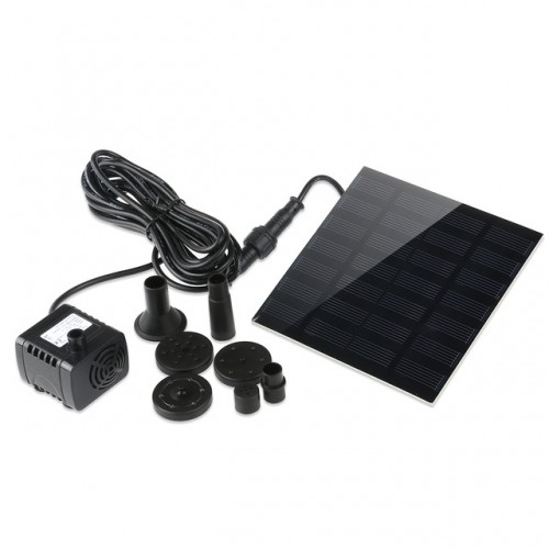 Solar Power Water Pump Aquarium Fountain Pool Garden Pond Submersible