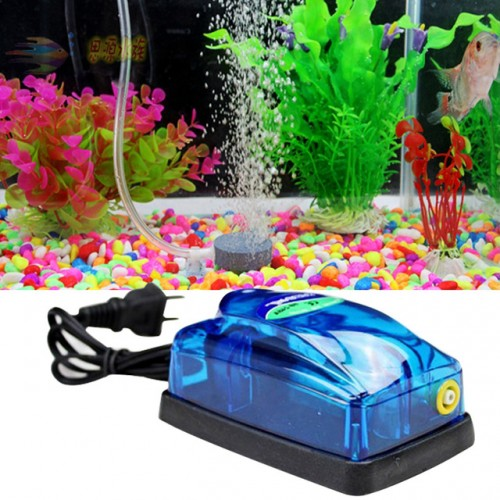 Useful Home Pump Waterfall Filter Super Silent Adjustable Aquarium Air Pump Fish Tank Oxygen
