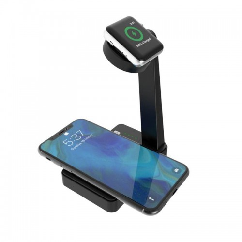 2 in 1 Wireless Charger For iPhone 8 For iPhone 8 plus For iPhone X