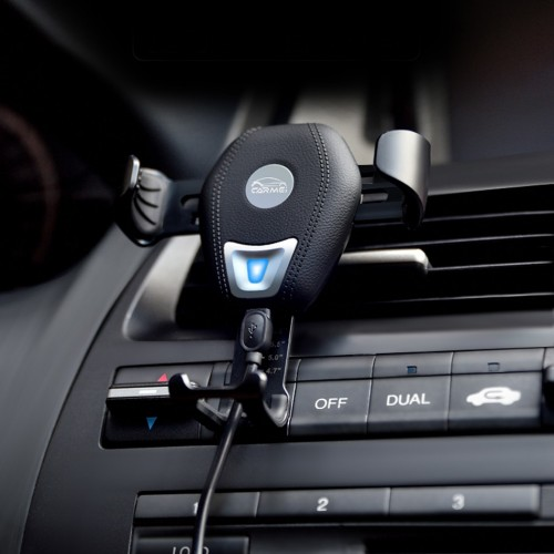 KEXU car fast wireless charger wireless cell phone fast charge wireless charging stand for iPhone