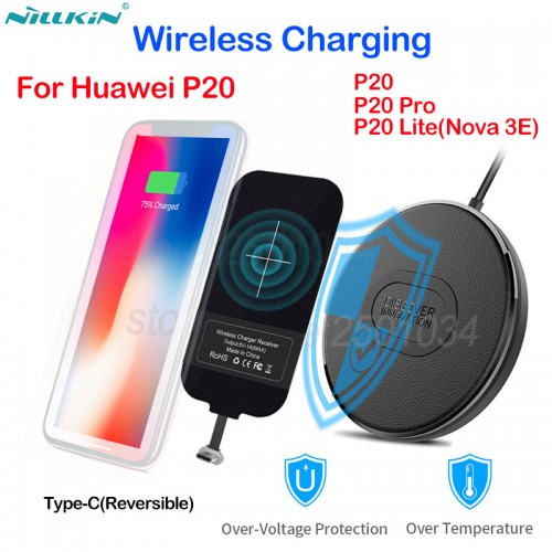 Nillkin Qi Wireless Charging for Huawei P20 Pro P20 Lite Nova 3 3E 2s Mini Fast