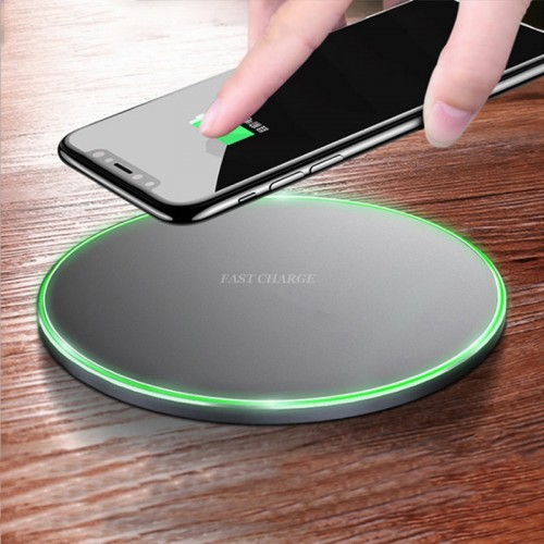 Oppselve Qi Wireless Charger For iPhone X 8 7 6 s Plus Samsung Galaxy Note 8