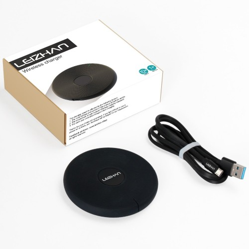 Wireless Charger for iPhone X 8 Plus USB Wireless Charging Pad for Samsung Galaxy S8 S9