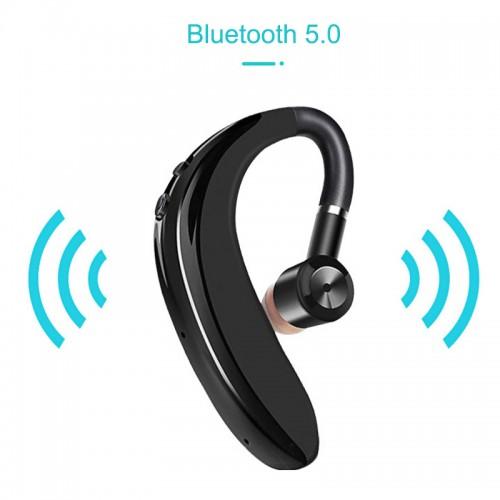 Wireless Earbuds Bluetooth 5.0 Sport Earpiece Bass Headphone Sweatproof Single Headset